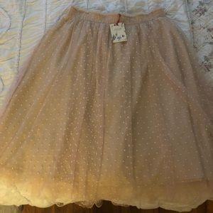 Lauren Conrad for Kohl's Snow White tulle skirt